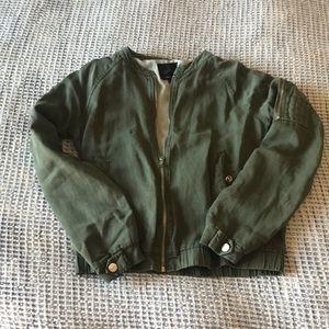 Sage Bomber Jacket